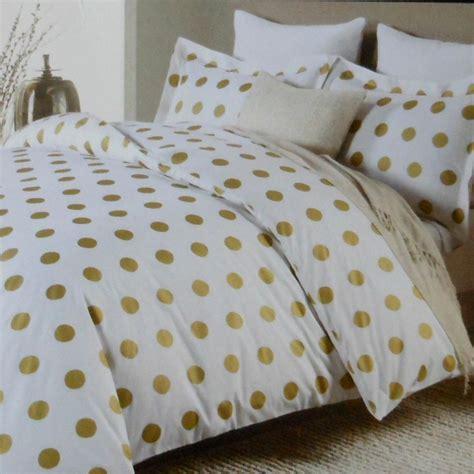 gold polka dot comforter miller large polka dot 3pc duvet set gold on 3857