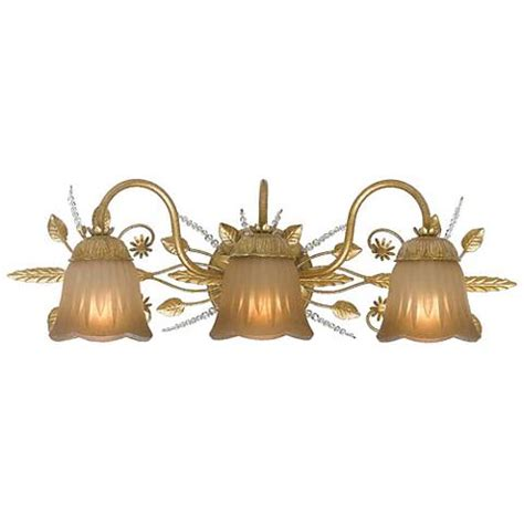 Gold Bathroom Light Fixtures by Primrose Collection Gold 24 Quot Wide Bathroom Light Fixture