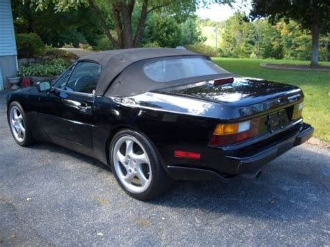 automobile air conditioning service 1991 porsche 944 parental controls sell used 1991 porsche 944 s2 16v black cabrio w upgraded