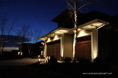 landscape outdoor lighting in kansas city led lights