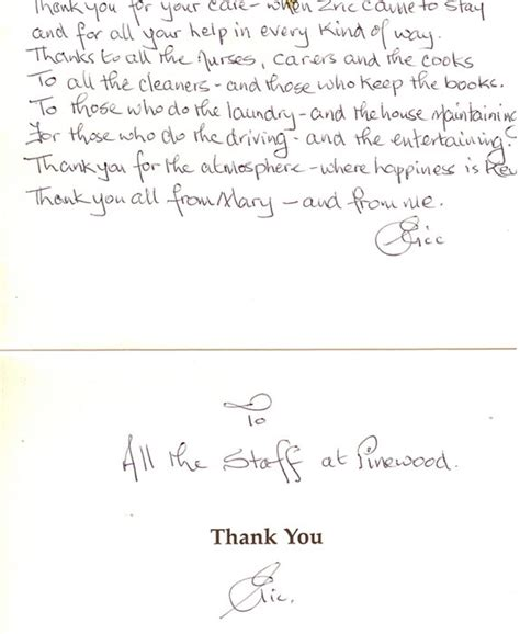 Thank You Letter Sle Nursing by Appreciation Letter To Nursing Home 28 Images 8 Thank