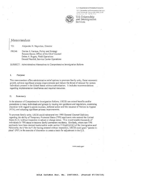 Uscis Letter Of Recommendation Sample - Cover letter