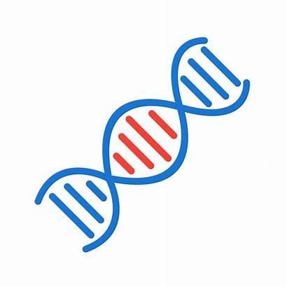 Dna Vector Icon Helix Clipart Genetic Genetics