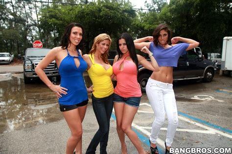 Fuck Team Five Rachel Starr Diamond Kitty Alexis Faux Sexy