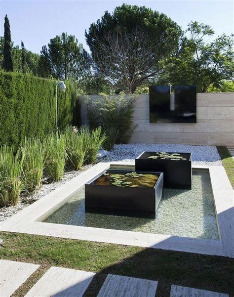 Modernen Garten Anlegen by Ideen Zur Gartengestaltung Modern Brunnen Teich