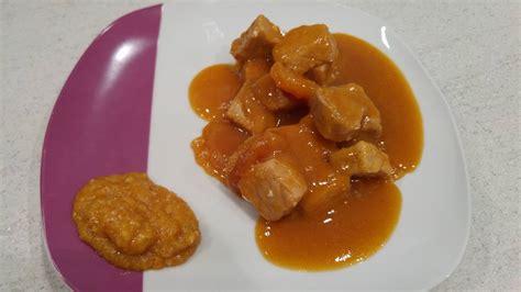 comment cuisiner du sauté de porc recette sauté de porc aux abricots au cookeo cookeo mania