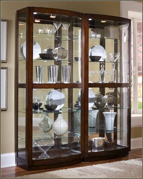 Detolf Glass Display Cabinets by Glass Corner Curio Display Cabinet Home Design Ideas