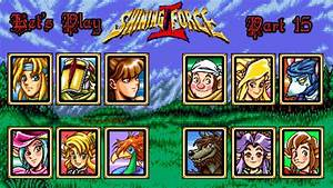 Let U0026 39 S Play Shining Force 2 15  Fighting With An Odd Eye