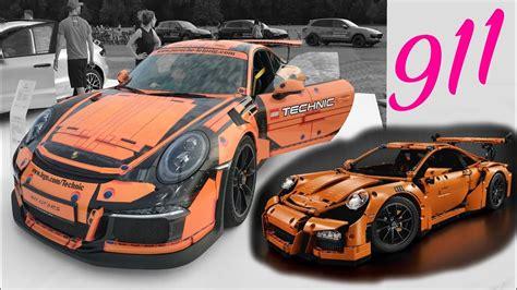 lego technic porsche 911 gt3 rs porsche 911 gt3 rs lego technic design 42056 panamera sport turismo