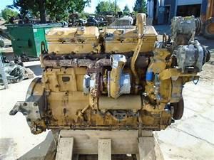 R F Engine Caterpillar Cat 3406