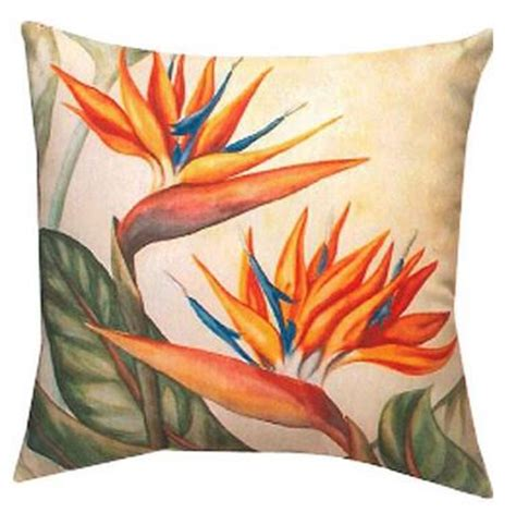 bird  paradise pillows  hawaiian home