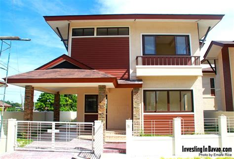 model house    balinese community located  maa davao city    largest