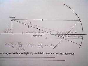 Physics 4c Hynyein  Experiment 9  Concave And Convex Mirrors