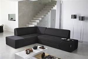 canape d39angle convertible midnight by ora ito dans un With tapis persan avec canapé d angle sans accoudoir