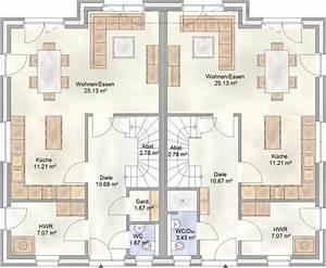 Lageplan Erstellen Online : doppelhaus grundriss ~ Markanthonyermac.com Haus und Dekorationen