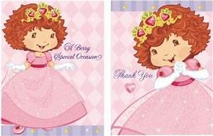 Get the Best Price for Strawberry Shortcake - Invitations ...