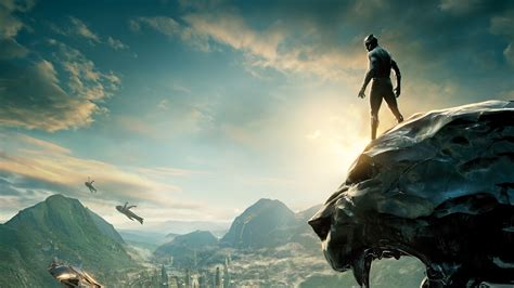 Wallpaper Black Panther, 2018, Hd, 4k, Movies, #8837