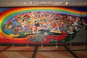 evil murals denver international airport