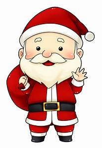 You can use this cute and adorable Santa clip art on ...