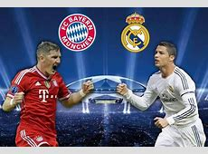 Bayern Munich vs Real Madrid, UEFA Champions League Semi