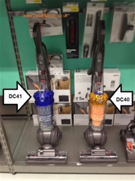 what is the difference between the dyson dc40 and the