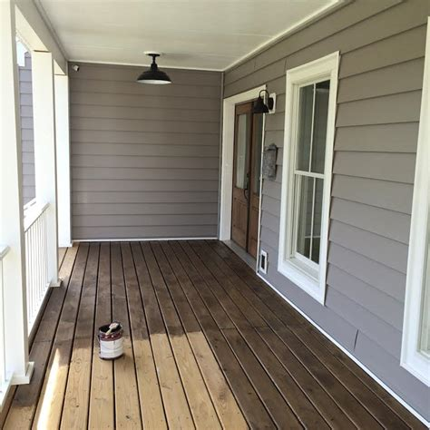 Front Porch Stain Ideas
