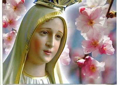 Mary Mother Wallpapers Fatima Senhora Nossa Jesus