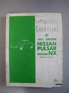 Find 1983 Datsun Nissan Pulsar  Pulsar Nx Service Manual