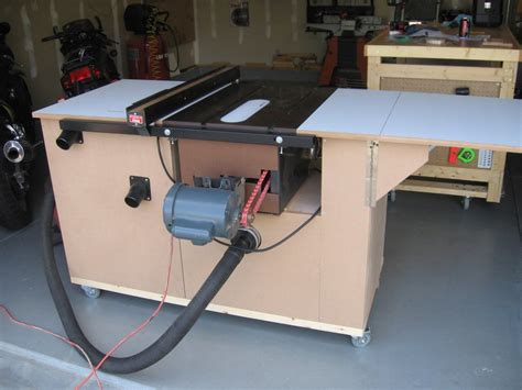 table saw mobile workstation by greg wurst lumberjocks