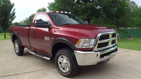 HD VIDEO 2015 RAM 2500 HD 6 4L V8 HEMI 4X4 REGULAR CAB