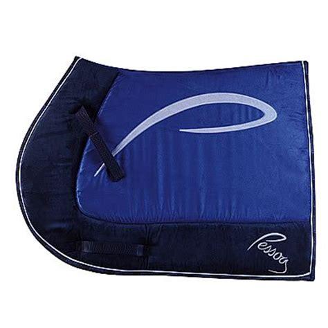tapis de selle pessoa alcantara bleu marine roi cyrielle