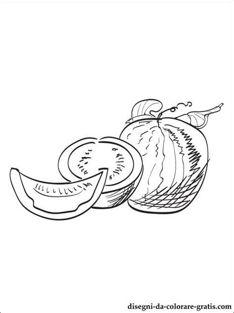 disegni meloni da colorare  stampare disegni da