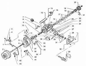 Spinning Reel Bail Arm Diagram