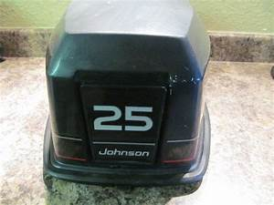 Johnson Evinrude Cowling Cover Hood 1995