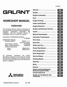 2000 Mitsubishi Galant Repair Manual Pdf  U0026gt  Fovconsulting Com
