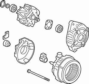 Honda Pilot Alternator  New  Electrical - 31100rgwa01
