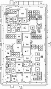 Buick Lacrosse  2010 - 2016  - Fuse Box Diagram
