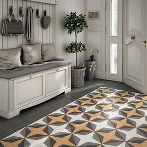 A guide to using decorative patterned wall floor tiles for Kitchen cabinet trends 2018 combined with black and white floral wall art