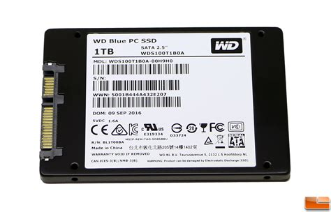Best 1tb Ssd Wd Blue 1tb Ssd Review Legit Reviewswd Enters The Ssd