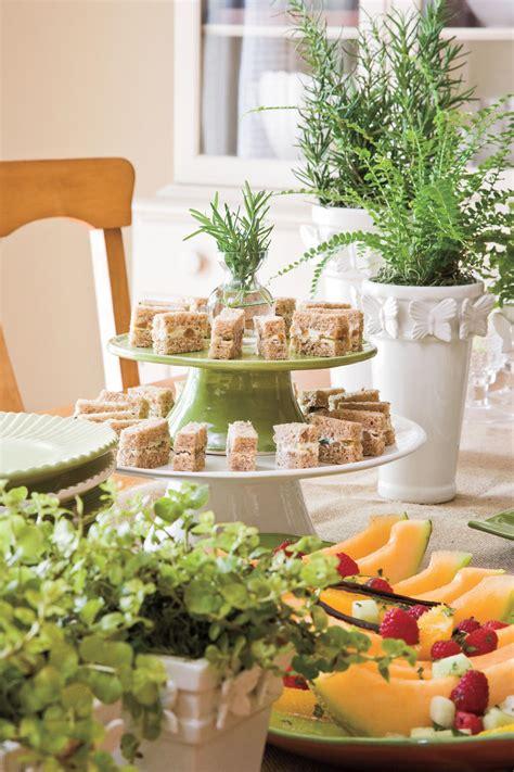 wedding bridal shower ideas food recipes decorations