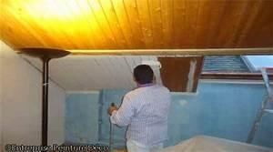 Comment Renover Un Plafond : plafond en lambris comment repeindre un mur pr parer le bois ~ Dailycaller-alerts.com Idées de Décoration