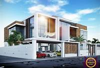 fine modern home design ideas Modern Luxury Villa exterior design