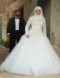 aliexpresscom buy muslim dubai arab long sleeves weddin With arabian dresses wedding
