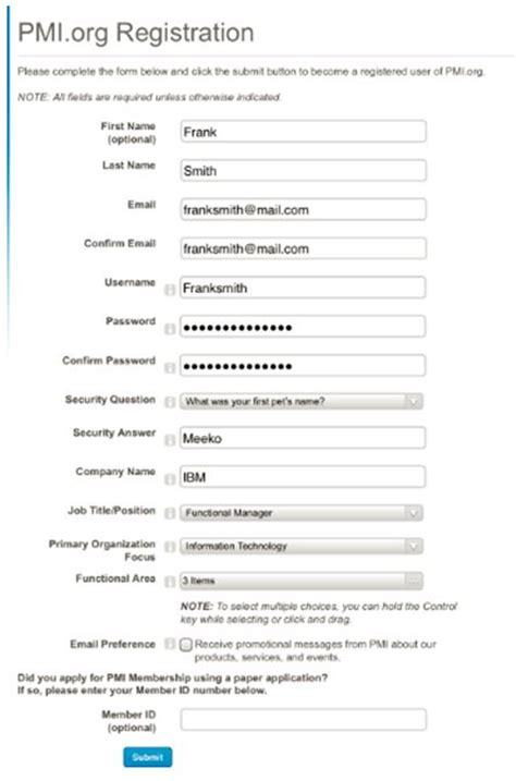 sle pmp application form filled pdf how to complete your pmp application step by step