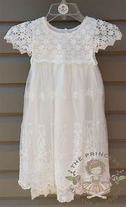 vintage white flower girl dress baby dress vintage With robe blanche bébé fille