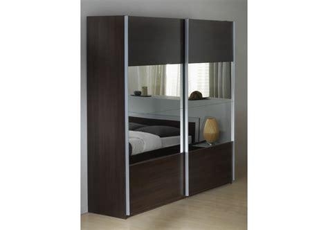 armoire  porte coulissante le bois chez vous
