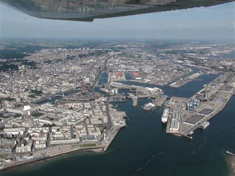 le bureau le havre port du havre vue aérienne de l entrée le havre