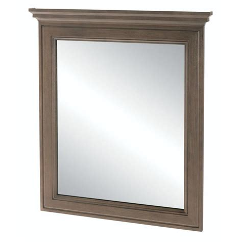 Home Depot Vanity Mirrors by Home Decorators Collection Albright 34 In L X 30 In W