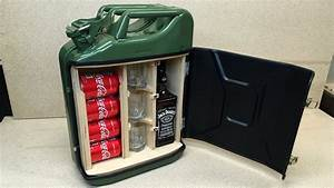 How To Make A Mini Bar From Jerry Can - YouTube