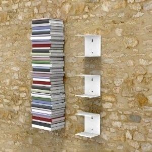 Unsichtbare Bücherregale  Handmade Furniture Pinterest